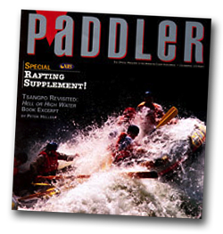 Paddler Magazine article on Earth River